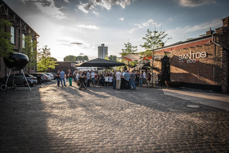 Businessevent bei Santos Grill in Köln
