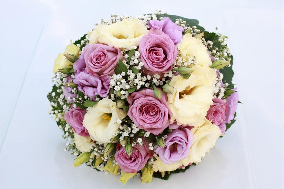 Wundervoller Brautstrauß