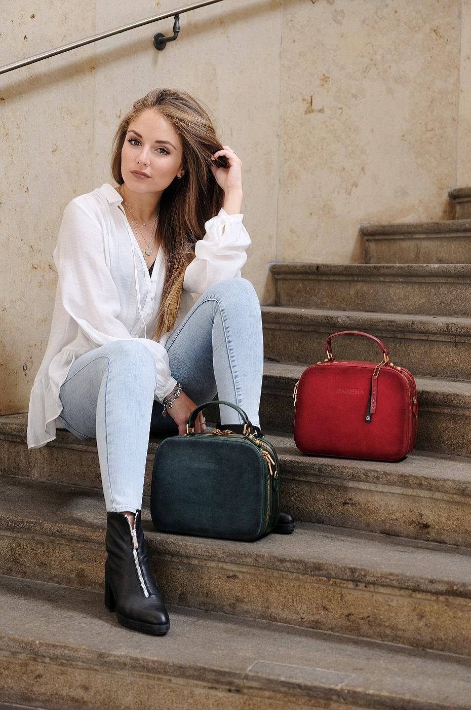 Modeshooting auf einer Treppe