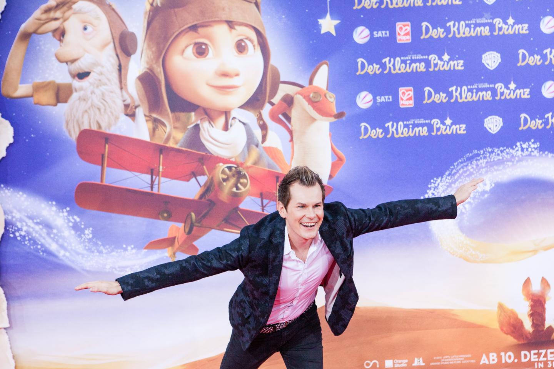 MeinPartyfotograf am roten Teppich. Kino Premiere für Der kleine Prinz in Berlin.